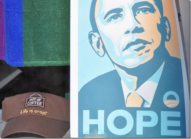 Obama, Hope, Out of Coffee