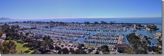 Dana Point pano, Art Hill