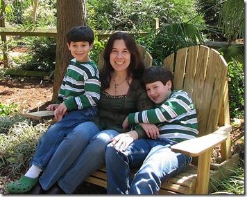 Maryann Goldman and family