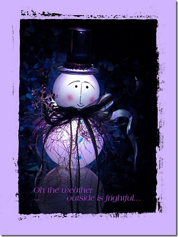 Maryann Goldman, Winter greeting card