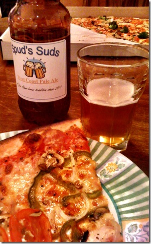 Pizza and Beer after Clarity