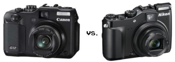 Canon G12, Nikon P7000