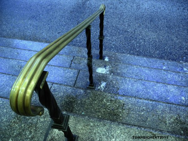 Stairs, NYC, Nikon P7000