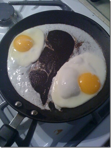 Eggs after Clarity