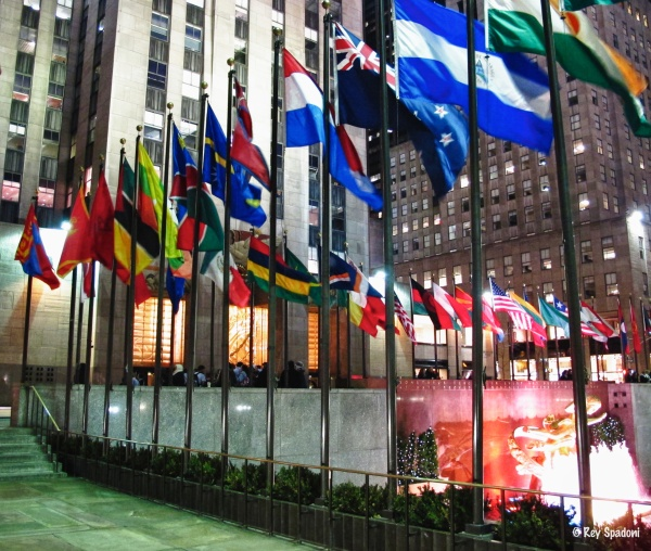 Rockefeller Center, NYC, HDR, Canon G12