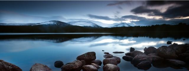 Loch Morlich at Dusk, Curtis Budden