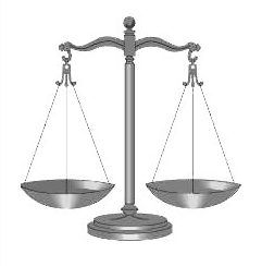 law scales, justice