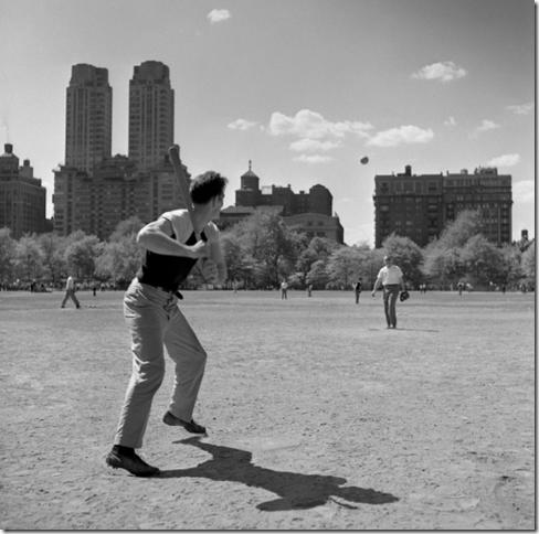 Frank Oscar Larson, Central Park, NYC