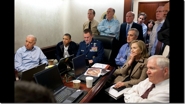 Pete Souza, White House Situation Room, May 1, 2011