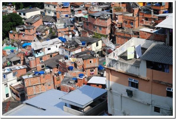 Favella in Brazil, by Rodney Daly