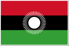 Republic of Malawi flag (Wikipedia)