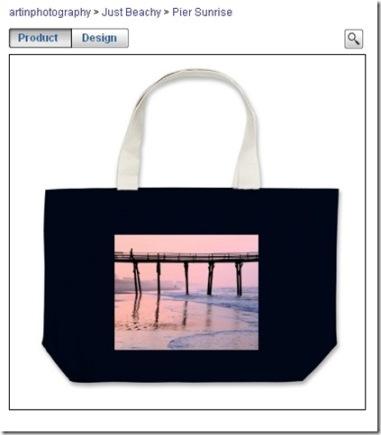Kara's Pier Sunrise Tote Bag