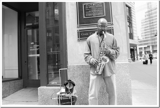 Rodney Daly, A random trumpet player earning some extra cash, Chicago
