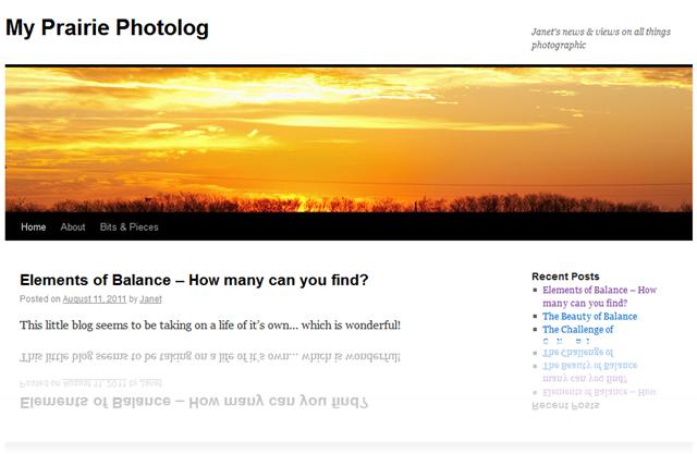 Link to Janet McQueens photoblog