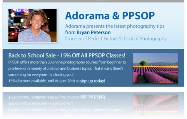 PPSOP 15% discount until 8/26/11
