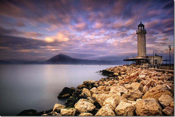 Patra The lighthouse