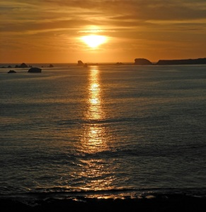 Sunset by Carole Orbeck