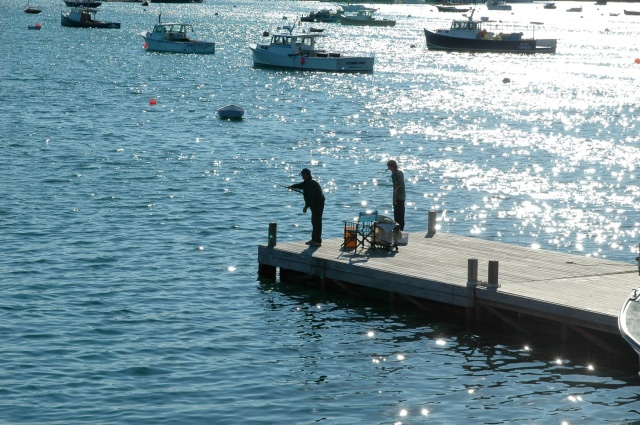 fisherman, casting