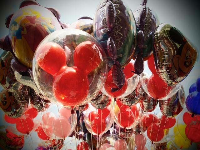 """Disney"", ""Balloons"", ""MIckey Mouse"""