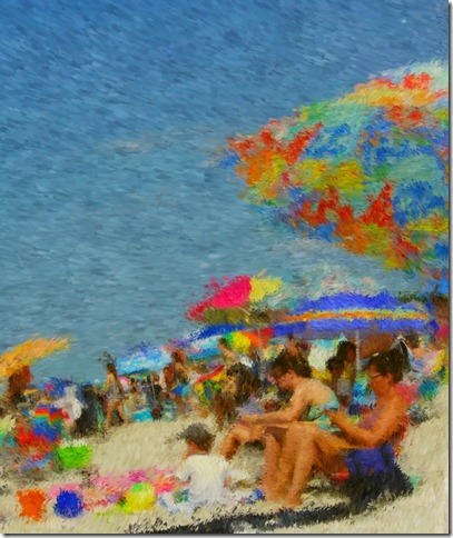 Kara's beach photo Impressionistic