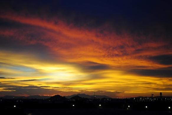 Phoenix Sunrise by Rodney Daly