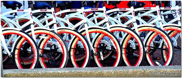 Bikes for rent, Provincetown, MA