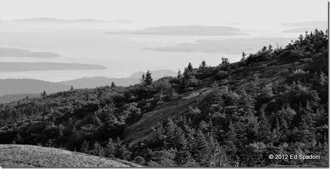 Cadillac Mountin view, Acadia National Park, Maine