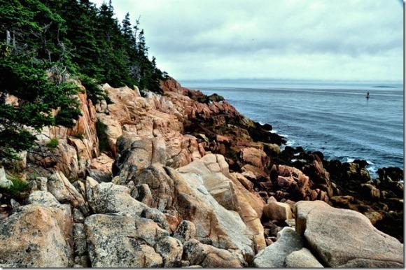 Rocky coast of Maine, Bass Harbor