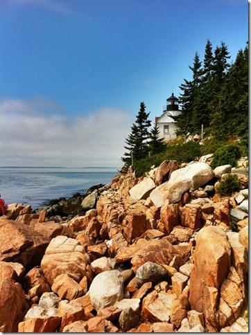 Bass Head Lighthouse, Mt. Dessert Island, Maine, HDR Pro, iPhone 4
