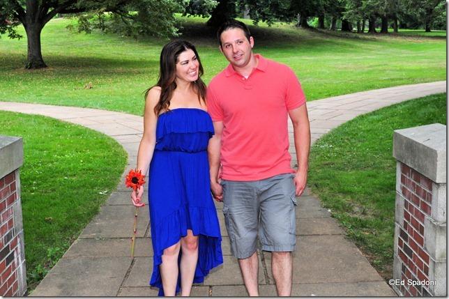 Amy and Jacob, path, engagement, 2 guys photo, ed spadoni