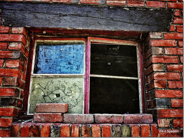 window, 2 guys photo, ed spadoni