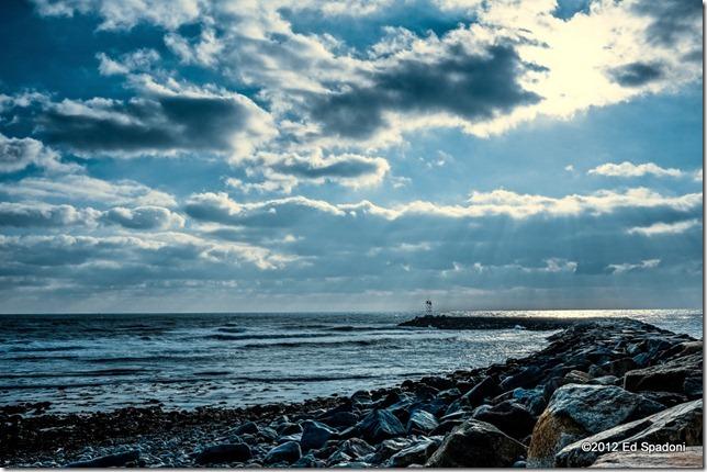 Scituate, beach, ocean, sea, lightroom, sony nex 6, 2 guys photo, waves, jetty, blue, 16-50mm