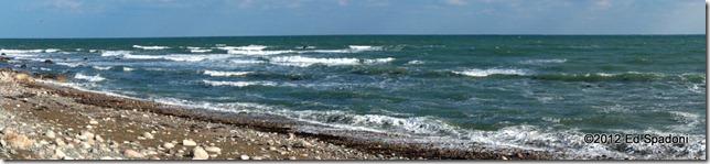 Sony NEX 6, panorama mode, Scituate, Massachusetts, beach, shore, waves