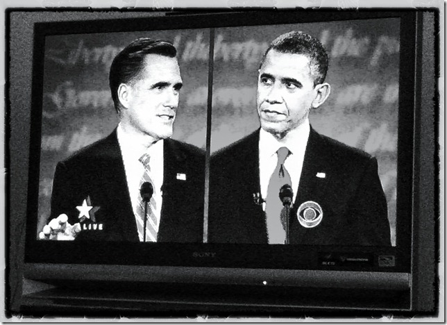 Debate, presidential, Romney, Obama, TV