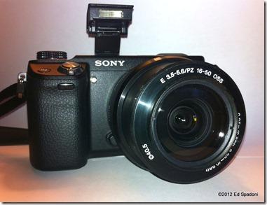 Sony NEX 6 with 16-50 kit lens
