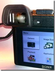 Sony NEX 6 EVF