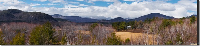Mt. Washington, North Conway, NH, new hampshire, panorama, Sony NEX 6