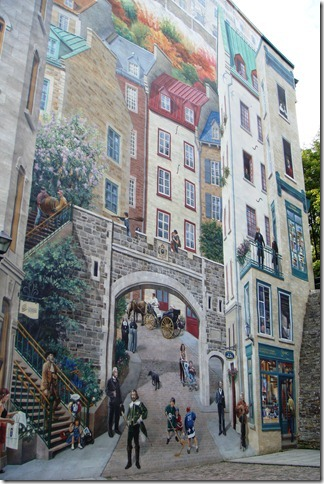 mural, Quebec City, Michael Doran