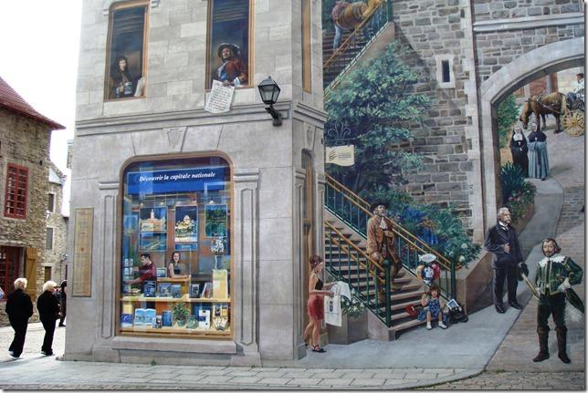 mural, Quebec City, Michael Doran