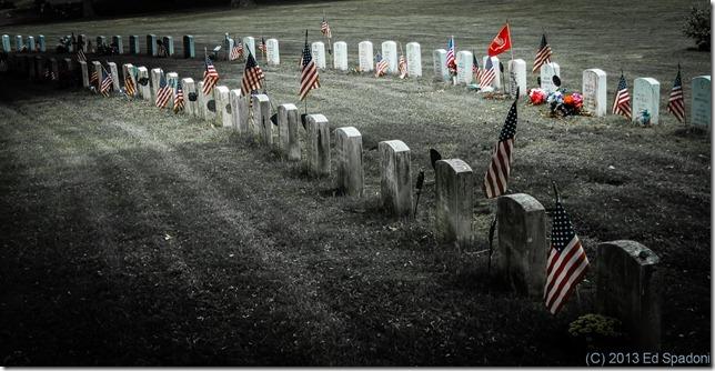 Memorial Day, cemetery, grave, United States, flag, Sony NEX 6