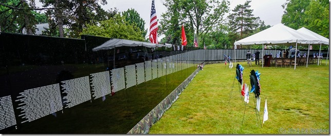 Vietnam Veterans, Memorial, The Moving Wall, Malden, cemetery, Sony NEX 6