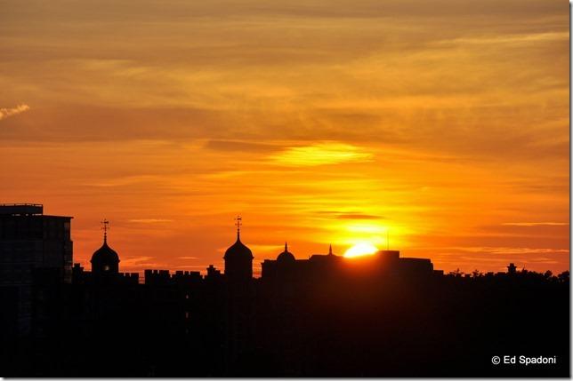 Sunset, boston