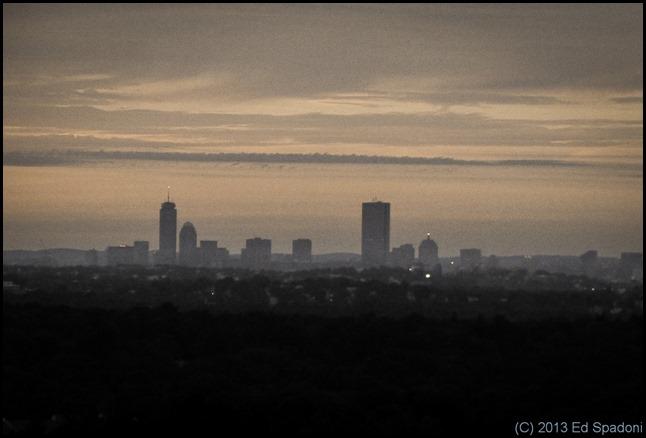 city, boston, skyline