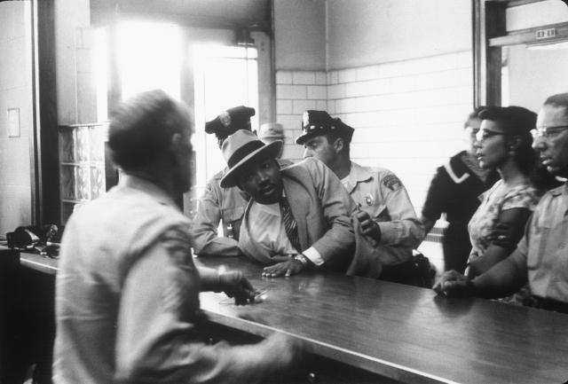 Martin Luther King Jr. Arrested.